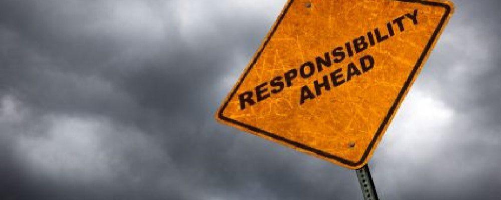 valueoftheday - responsibility